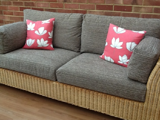 when making replacement sofa or armchair cushion coverswe often find that the